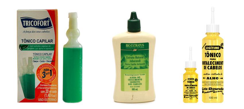 produtos para queda de cabelo